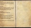 Agolas's Journal