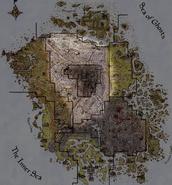 Mappa Terre di Cenere