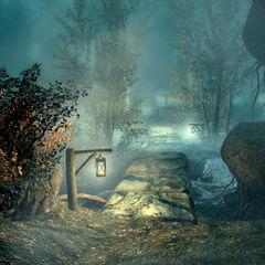 Mglisty Zagajnik z gry The Elder Scrolls V: Skyrim
