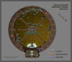 Бамз-Амсшенд, Небесная Галерея (план)