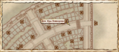 Дом Иды Влинорман. Карта