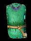 Зелёная шёлковая роба