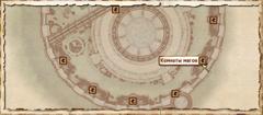 Комнаты магов. Карта