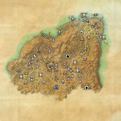 Ривенспайр-Дорожное святилище Старых ворот-Карта