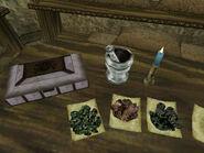 Три вида лишайников (Morrowind)