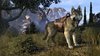 Highland Wolf Mount