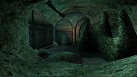 Old Mournhold, Abandoned Crypt - Tribunal