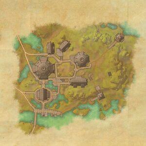 Деревня Ярких-Глоток (план)
