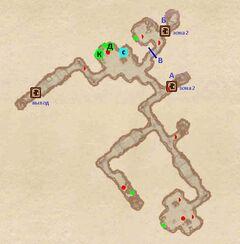 Пещера Гнилой Лист. План