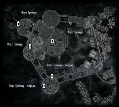 Форт Греймур - общий вид - план