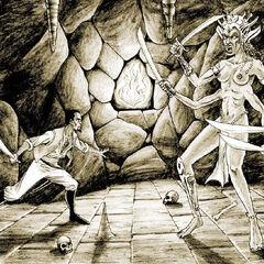 Cyrus vs Shedemon – grafika koncepcyjna