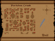 Portdun Creek view full map