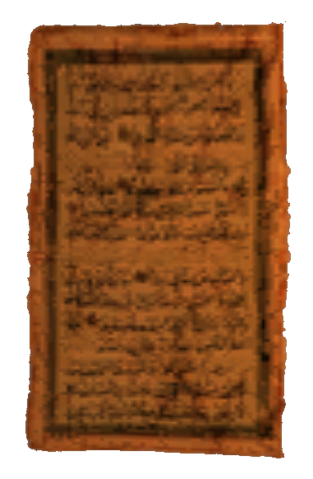 File:TES3 Morrowind - Book - Parchment 02.png