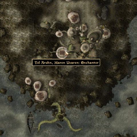 File:Tel Arhun Maren Enchanter - Local Map - Morrowind.png