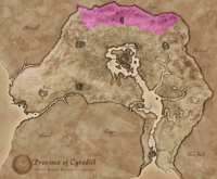 Горы Джерол (карта)
