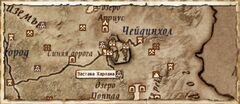Застава Харлана (Карта)