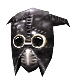 Шлем дублёной кожи нетча (morrowind)