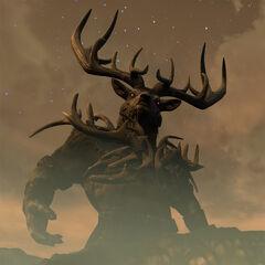 Hircyn z gry The Elder Scrolls Online