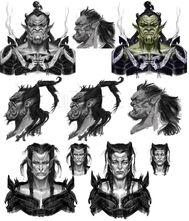 Orc Faces