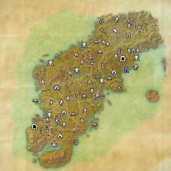 Гленумбра-Дорожное святилище Ведьминой топи-Карта