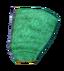 Зелёный шёлковый капюшон