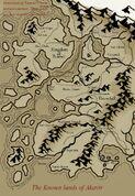 Mappa del Regno Tsaesci