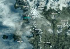 Курган Бладскал (карта)