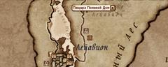 Пещера Полевой Дом - карта