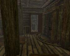 Потайная дверь в Усадьбе Рифтвельд