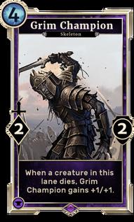 Grim Champion (Legends)