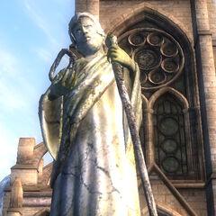 Posąg Arkaya z gry The Elder Scrolls IV: Oblivion