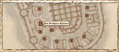 Дом Истируса Бролуса. Карта