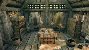 Дом Йоргена и Лами - спальня