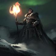 Orc Clan Shaman card art