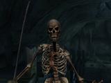 Red Sabre Skeleton