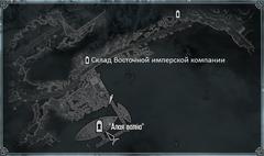 Алая Волна карта