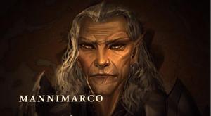 Маннимарко, Король Червей