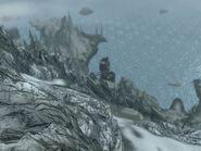 Пик Хвиткальд (Dragonborn) 02 - вид на Бладскал