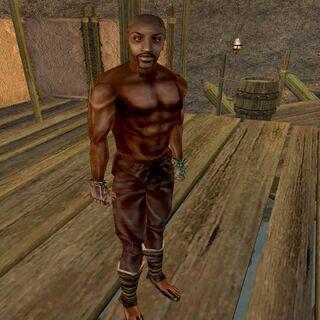 Zenithar pod postacią Jona Hawkera z gry The Elder Scrolls III: Morrowind
