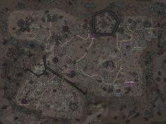 Логово Жнеца - карта