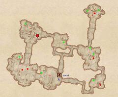 Пещера Кровного Родства - Туннели. План
