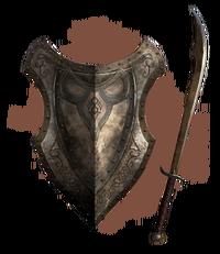Редгардские меч и щит (концепт-арт)