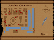 Archen Cormount full map