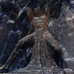Posąg Malacatha z gry The Elder Scrolls Online