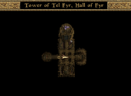 Tower of Tel Fyr, Hall of Fyr Map Morrowind