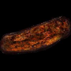 Жареное мясо злокрыса