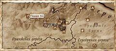 Пещера Эхо. Карта
