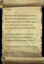 Message from Fennorian