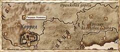 Пещера Нонвилл. Карта