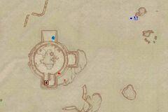 Форт Карактакус (экстерьер). План